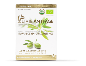 With its powerful polyphenols OLIVIE ANTI-AGE is organic and promotes active rejuvenation of your body cells.