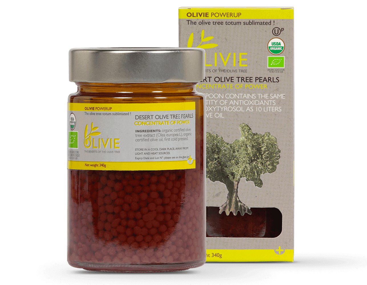 OLIVIE POWERUP pearls are immune boosting foods recommended by Dr Gundry. Super packed in polyphenols.